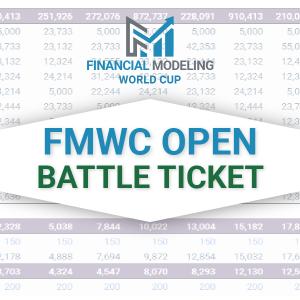 FMWC Open Battle Ticket