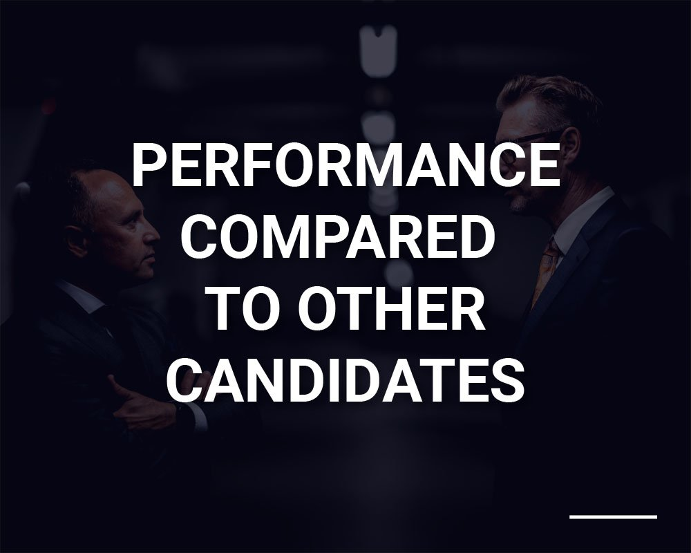 Performance Compared to Other Candidates